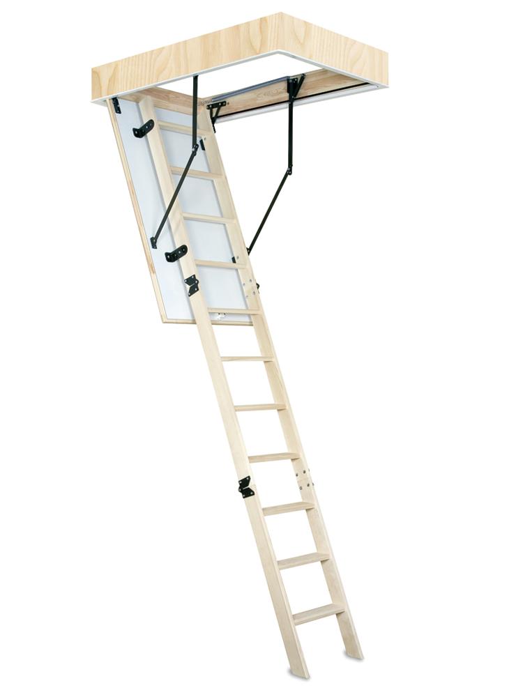 Escalera de techo de madera mundo c es - Escaleras de techo ...