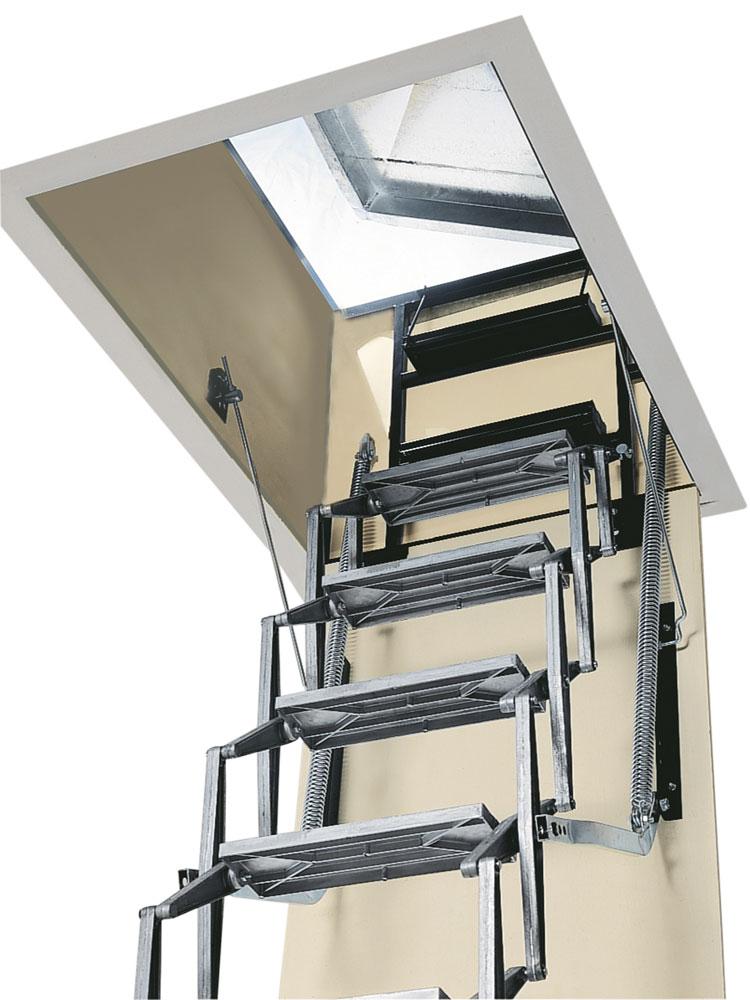 Escaleras especiales mundo c es - Escaleras de techo ...